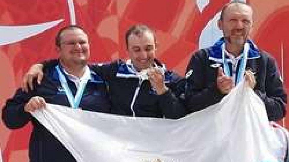 Tiro con l'arco: la squadra maschile è d'Argento nel compound