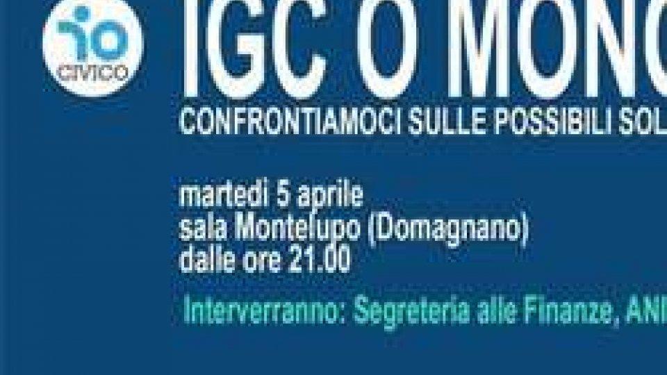"Serata pubblica ""IGC O MONOFASE?"""