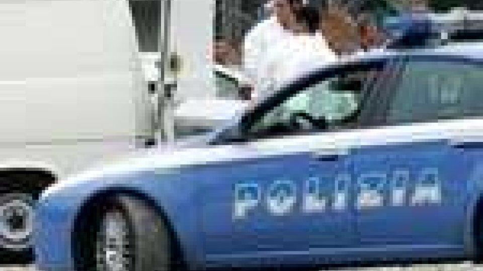 La Polizia sul luogo della tragedia