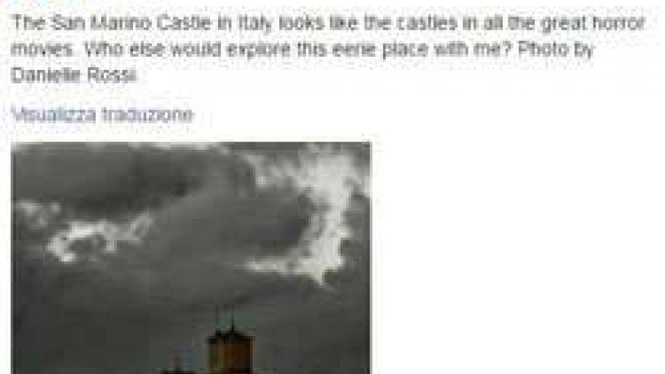 Alice Cooper su Fb: prima torre sembra una location horror...chi vuole visitarla con me?