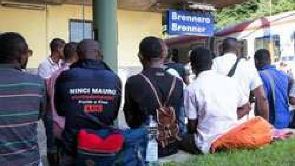Migranti al Brennero