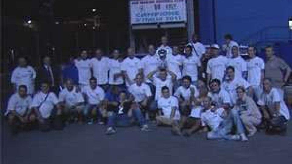 San Marino - Festa scudetto per la T&A