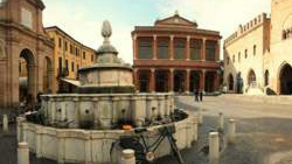 La fontana di Piazza Cavour