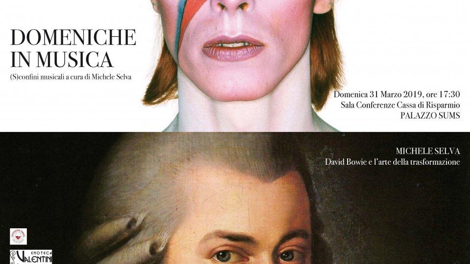 Domeniche in Musica con l'Istituto Musicale: David Bowie e l'arte della trasformazione