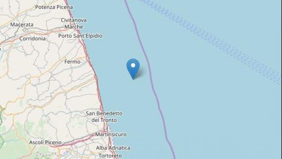 Terremoto: nuove scosse al largo della costa marchigiana