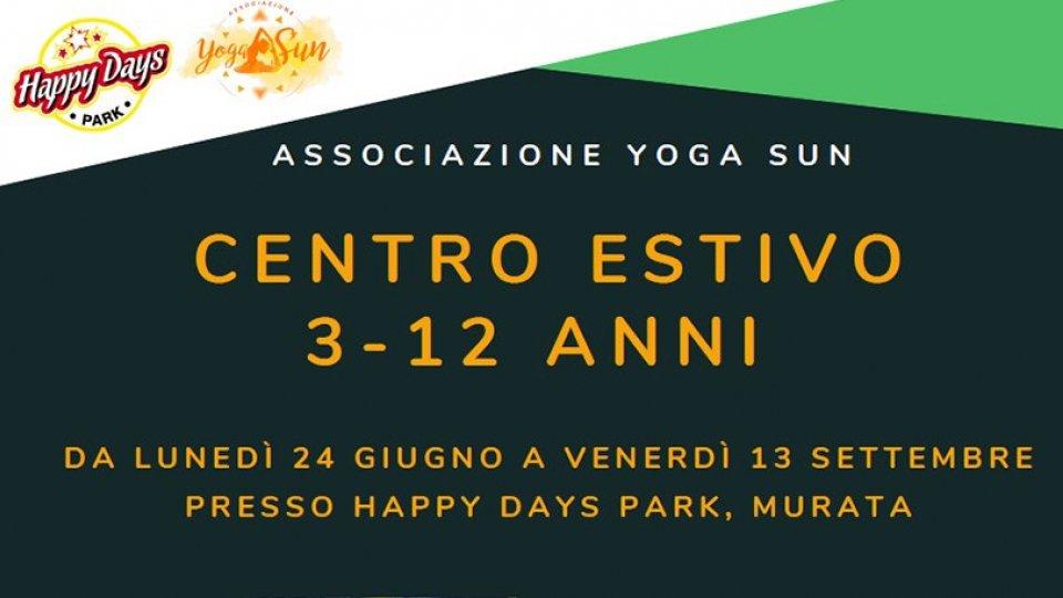 Associazione Sportiva Yoga Sun: Centro Estivo 2019, iscrizioni aperte!