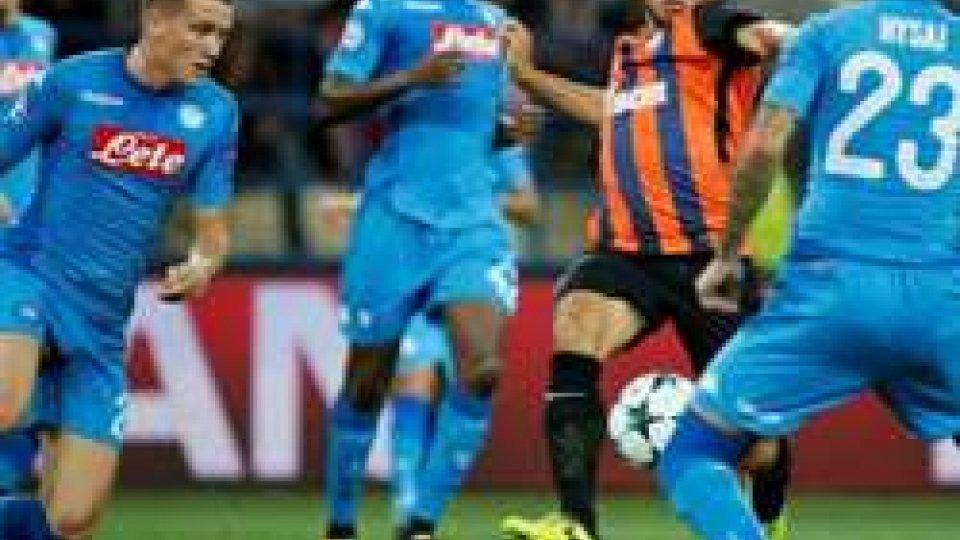 Shaktar vs NapoliChampions, con lo Shakhtar il Napoli si gioca tutto, forse senza Insigne