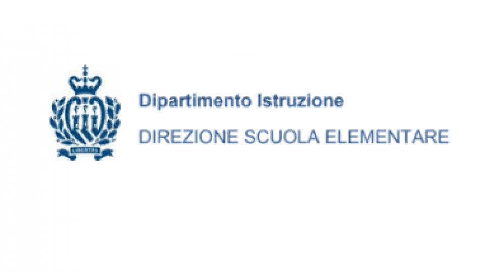 Dipartimento Istruzione: Iscrizioni alla Scuola Elementare anno scolastico 2019-2020