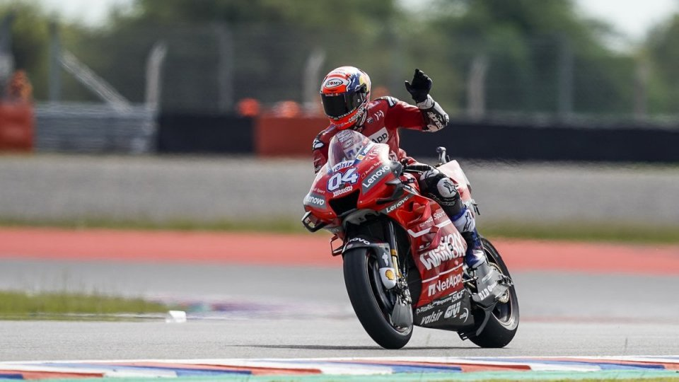 Lampo Dovizioso, in Argentina libere-show Ducati
