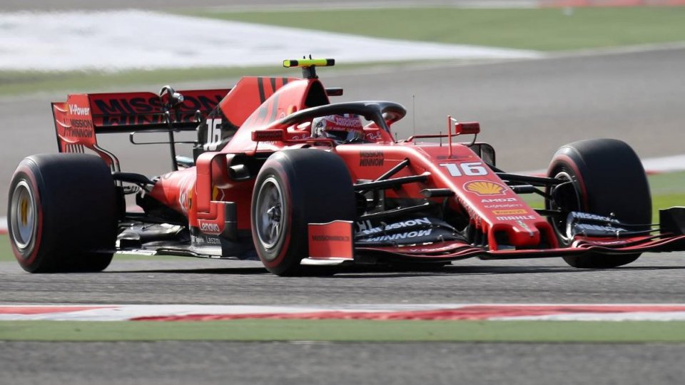 Vola la Ferrari