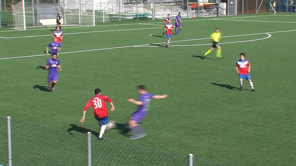 Juvenes Dogana - Cailungo 1-1La Juvenes Dogana allo spareggio tra le polemiche