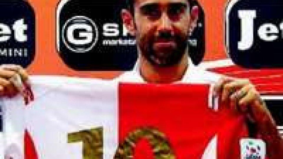 Riccardo Taddei, una rete in due presenze con la maglia del Rimini