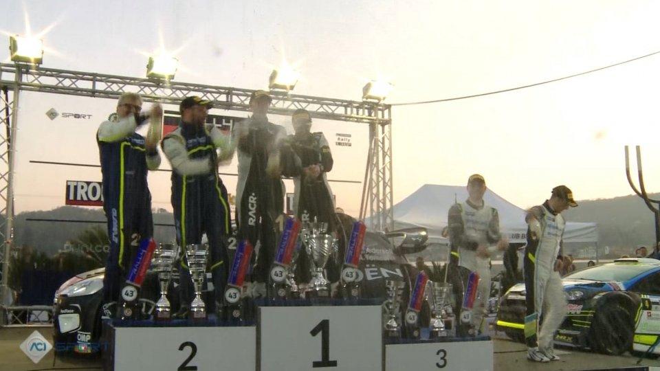 Il podioPedersoli trionfa nel 43' Rally Mille Miglia