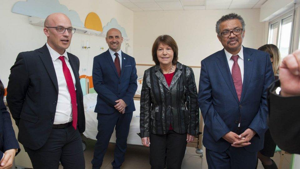 ISS: il Direttore Generale dell'OMS in visita all'Ospedale di Stato