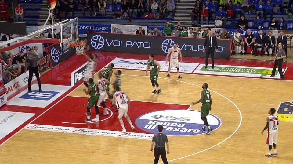 Vl Pesaro - Avellino 91 - 89