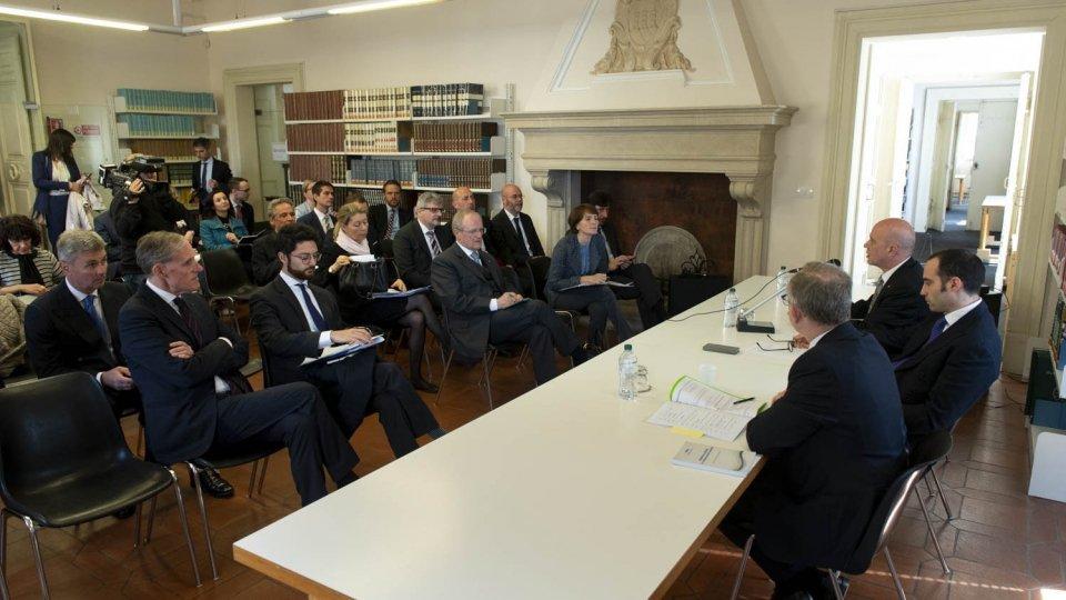Seminario sul processo di associazione all'Ue con i diplomatici degli Stati membri