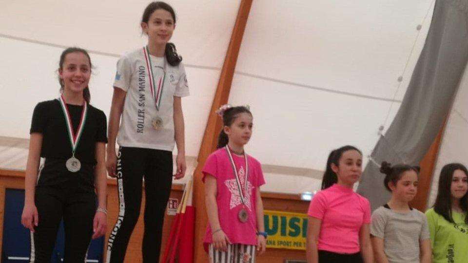 Roller: Matilde Terenzi è campionessa regionale Uisp specialità Slide