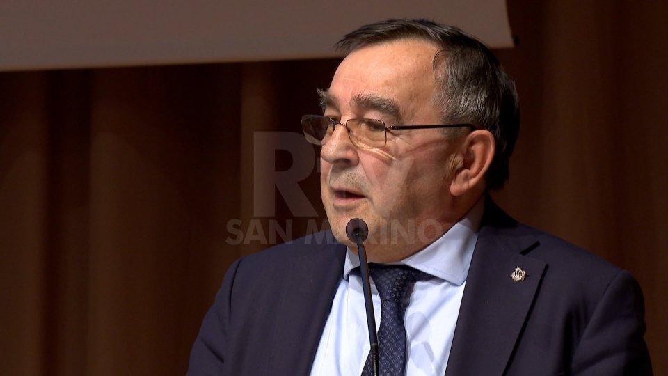 """Il Segretario Augusto MichelottiMeeting OMS a San Marino: Michelotti, """"Possiamo proporci come modello virtuoso"""""""