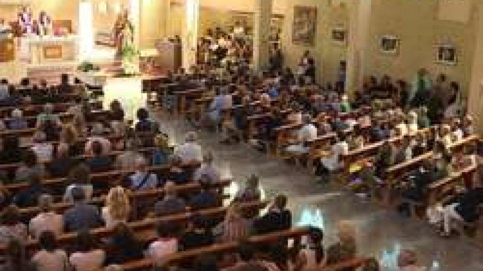 i funerali di Giuseppe RossiA Riccione i funerali di Giuseppe Rossi, noto politico e professionista sammarinese trovato senza vita