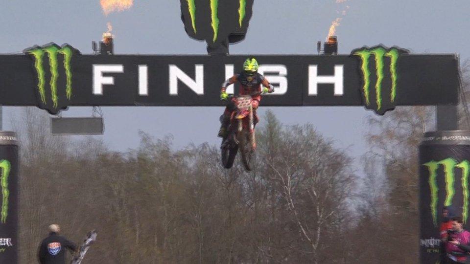 La vittoria di CairoliMotocross: sempre più leader Tony Cairoli