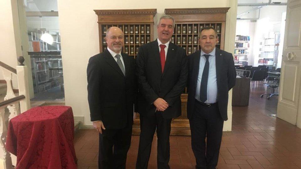 1 aprile: Capo della Protezione Civile a San Marino per relazioni sempre più strette