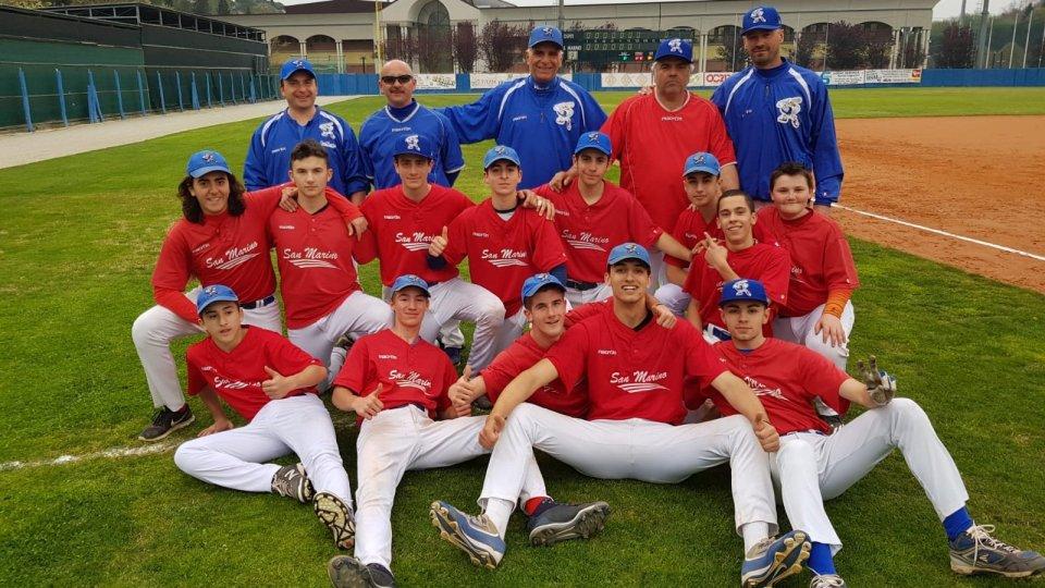Baseball: San Marino inizia con una vittoria contro Rimini