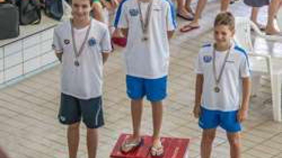 Tra podi e soddisfazioni individuali e di gruppo, si chiude la stagione per il gruppo degli esordienti della Gens Aquatica San Marino Nuoto
