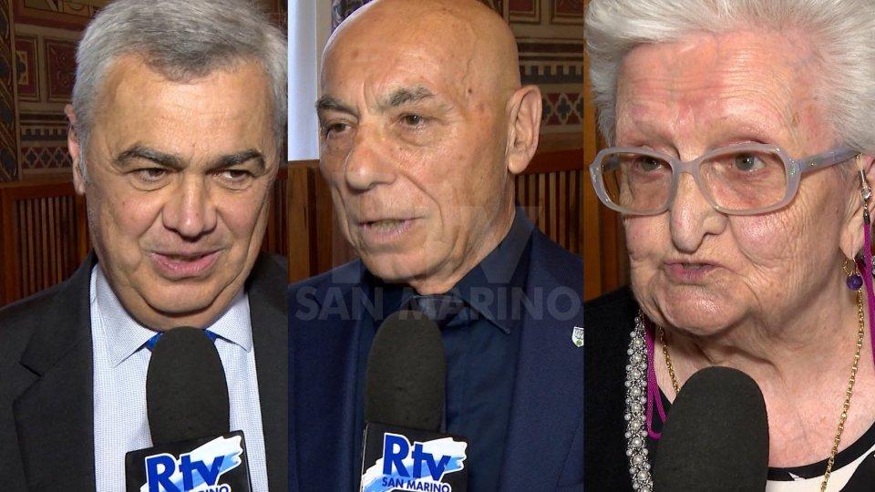 """Le interviste60 anni CONS, Vicini, Barulli e Tamagnini: """"Cerimonia emozionante"""""""