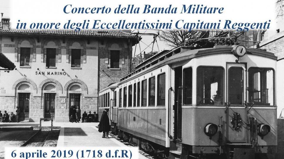 Concerto della Banda Militare in onore della Reggenza