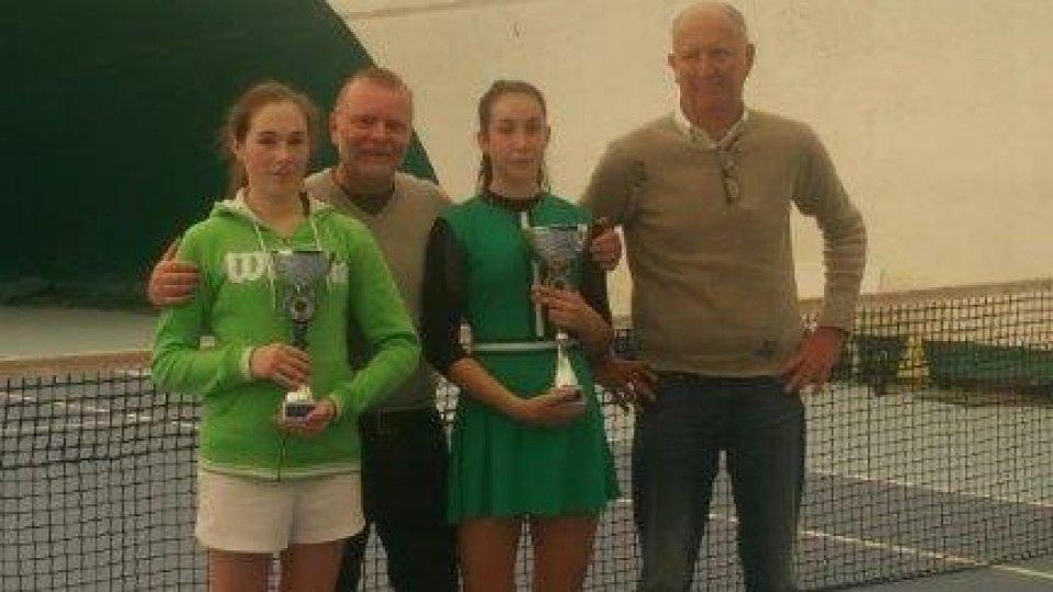 Brillanti risultati per le tenniste sammarinesi Chiara e Giulia Dal Pozzo