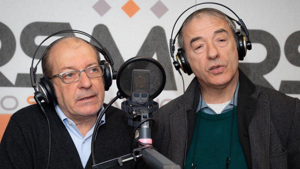 Davide Riondino e Dario Vergassola a Radio San Marino