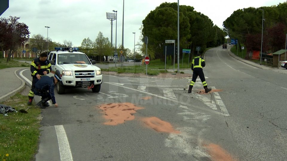 Incidente a Serravalle, lievi lesioni per una sammarinese