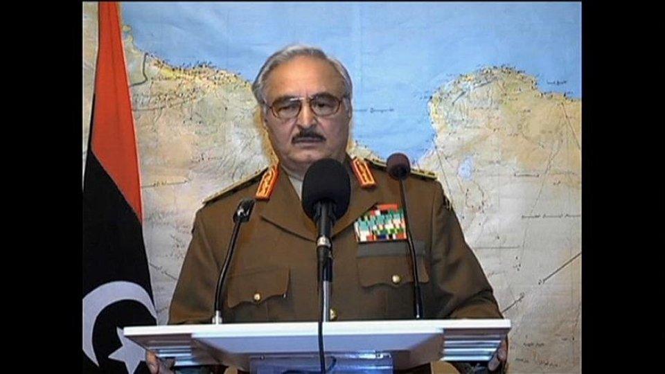 Il maresciallo Haftar (@euronews)