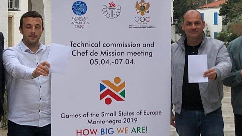 Meno di 50 giorni ai Giochi dei piccoli Stati in Montenegro
