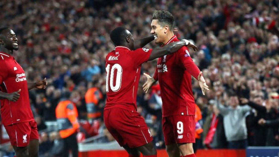 Champions: il Liverpool domina il Porto