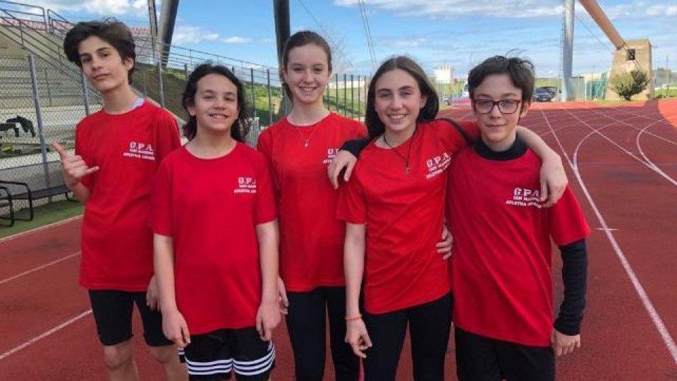 Atletica leggera: Gpa Giovani sugli scudi ai Campionati provinciali di prove multiple