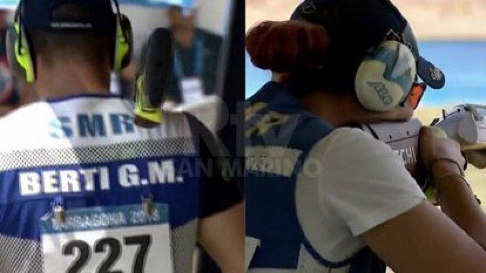 Tiro a volo: ad Al Ain Perilli-Berti primi nelle qualifiche del Mixed Team