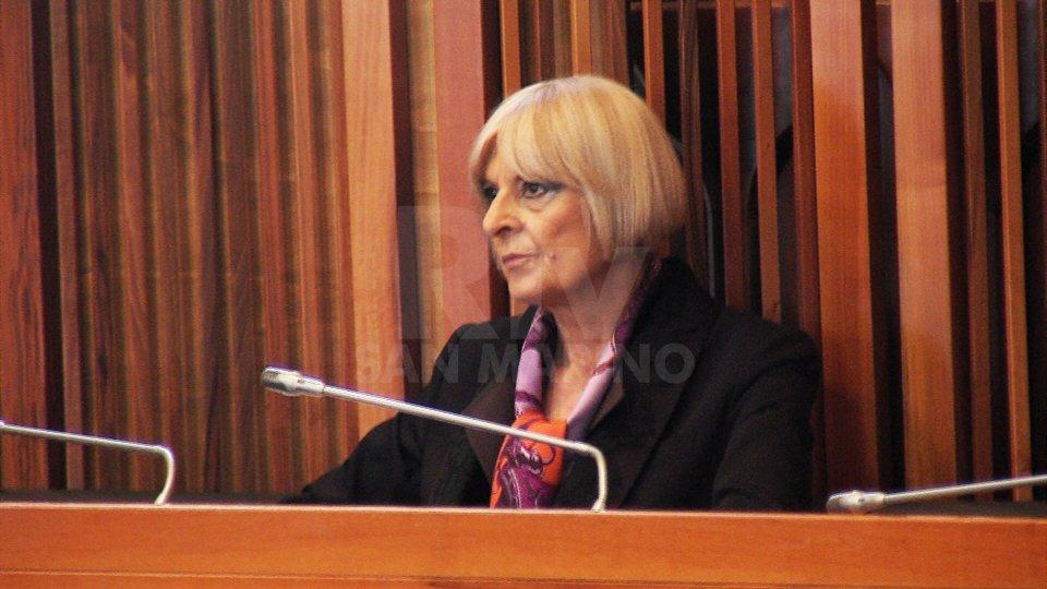 Valeria PierfeliciIl DG di San Marino Rtv Carlo Romeo presta giuramento di calunnia confermando la denuncia nei confronti del magistrato Pierfelici