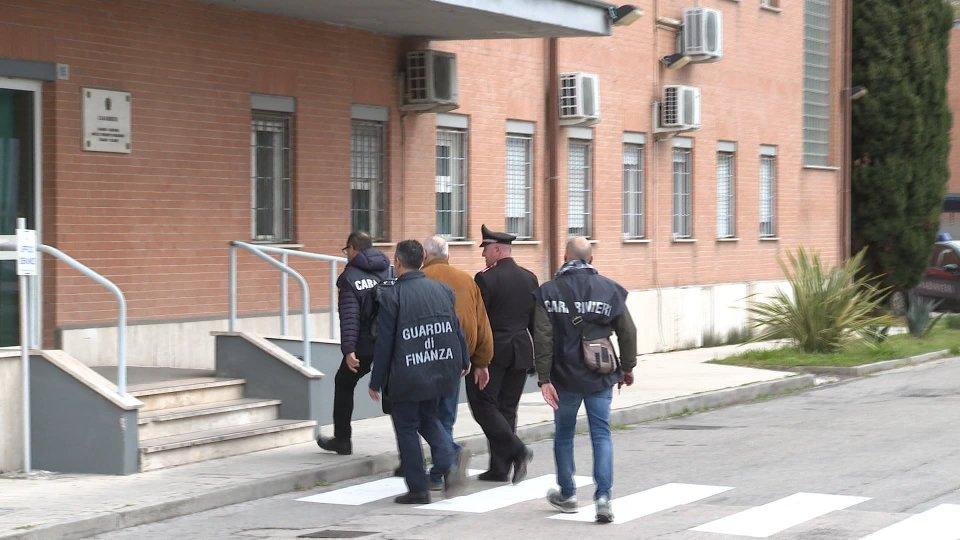 Carabinieri RiminiSRV_TRUFFE_CORUZZIONE_12042019