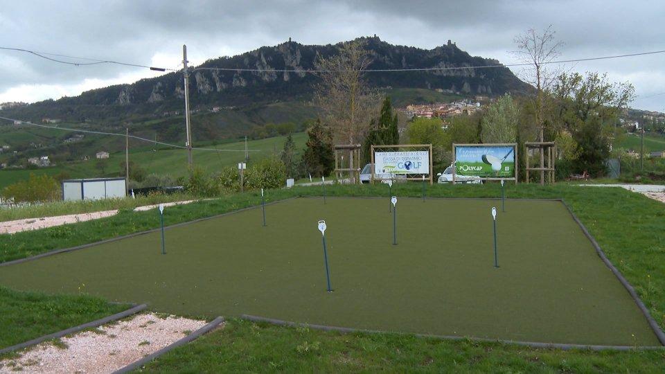 Un nuovo impianto per il golf sammarinese