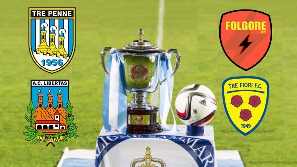 Coppa Titano: la FINALE sarà Folgore - Tre Fiori