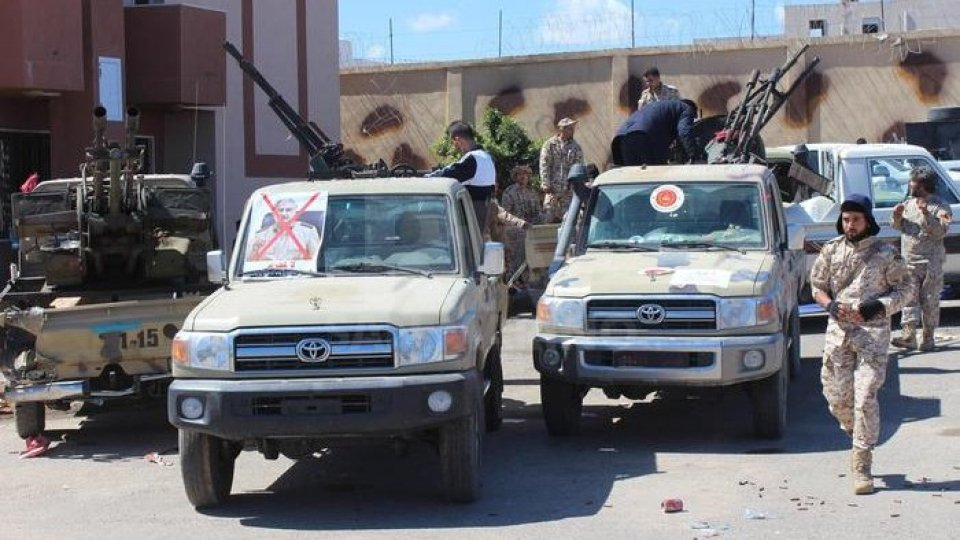 Tripoli assediata. Foto ansa