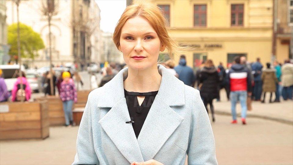 La corrispondenza di Victoria Polishuk sul voto in Ucraina