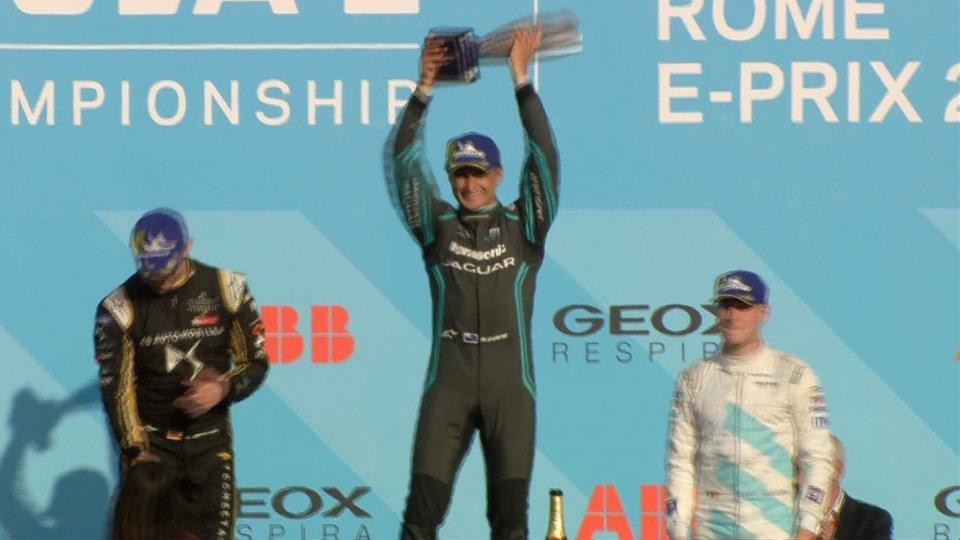 Formula E: a Roma vince Evans, D'Ambrosio in vetta