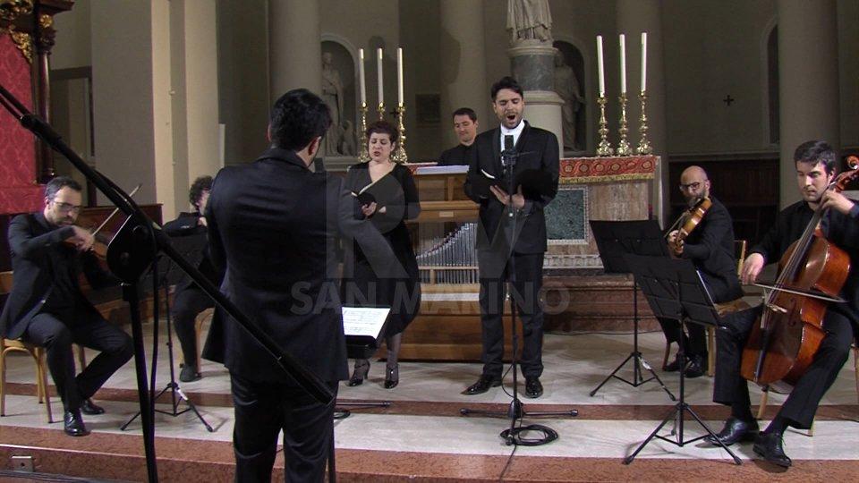 """Arianna Stornello e Carlo Vistoli[VIDEO] """"Stabat Mater"""" di Pergolesi alla Basilica del Santo"""