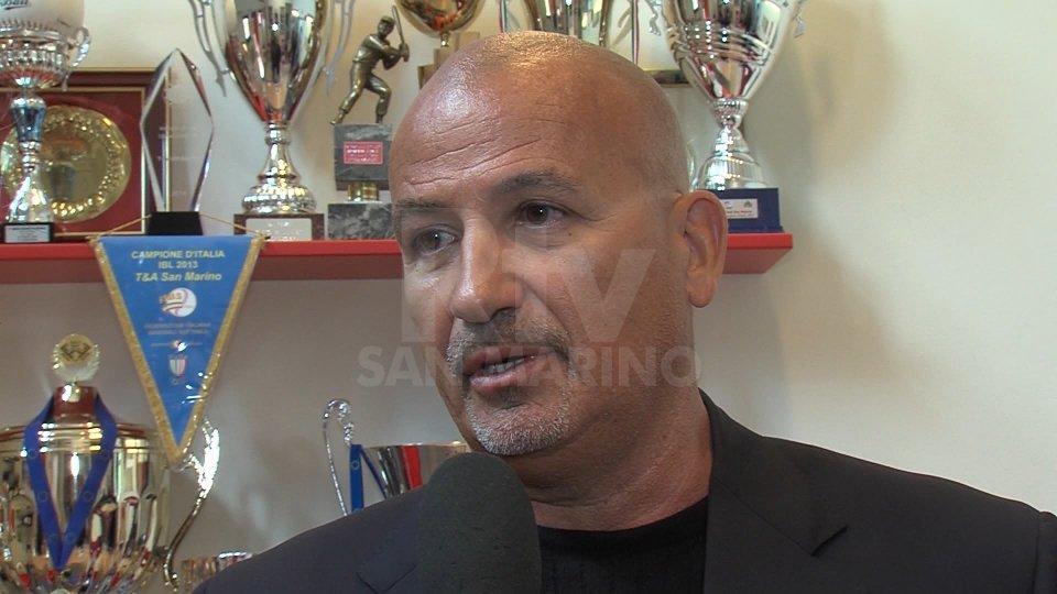 """Mauro MazzottiMauro Mazzotti: """" L'obiettivo è sempre quello di arrivare in fondo e giocarsi il tricolore. Dispiace non ci sia il derby con il Rimini """""""
