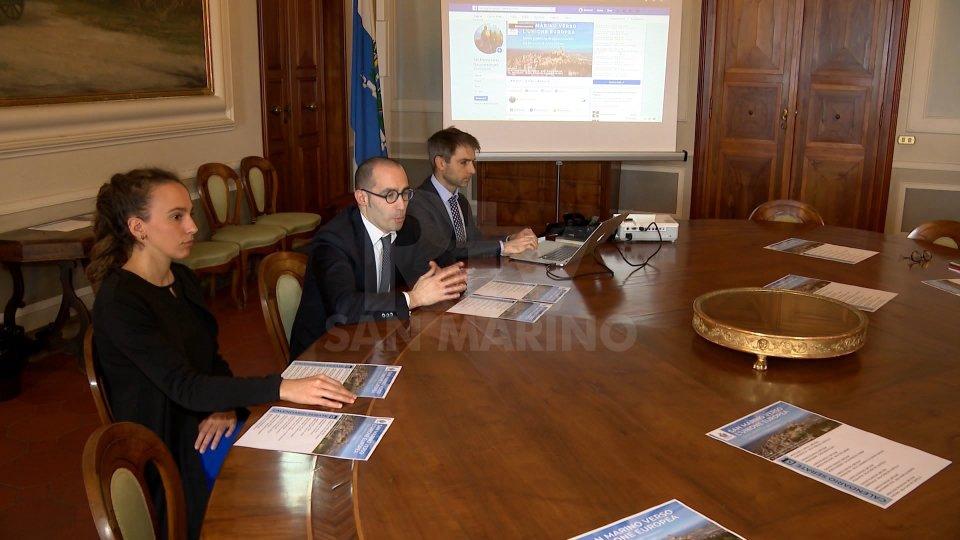 """La conferenza di presentazione""""San Marino verso l'Unione Europea"""", la presentazione"""