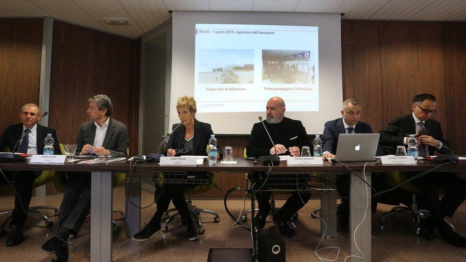 AIRiminum: presentazione delle nuove tratte di Leonardo Corbucci, Amministratore Delegato