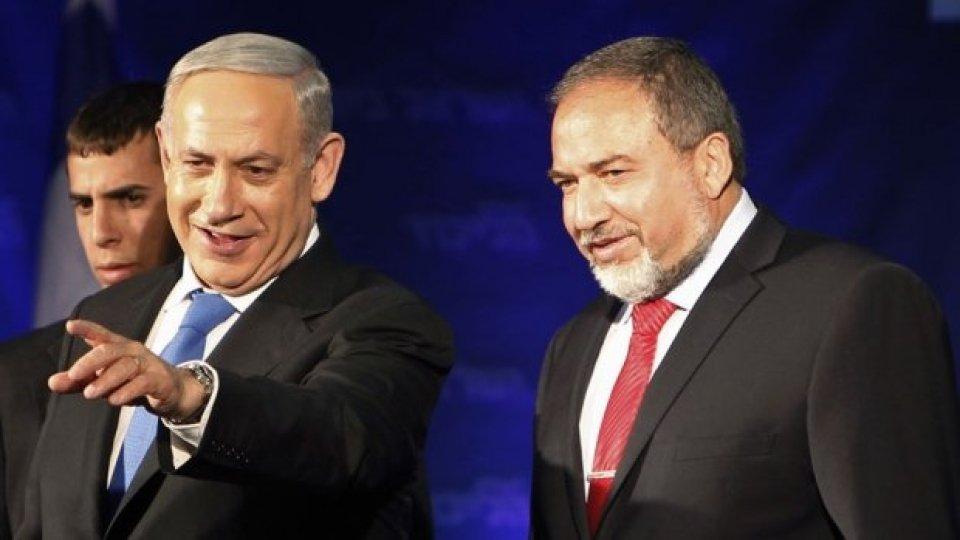 Israele: Netanyahu attende l'appoggio di Lieberman