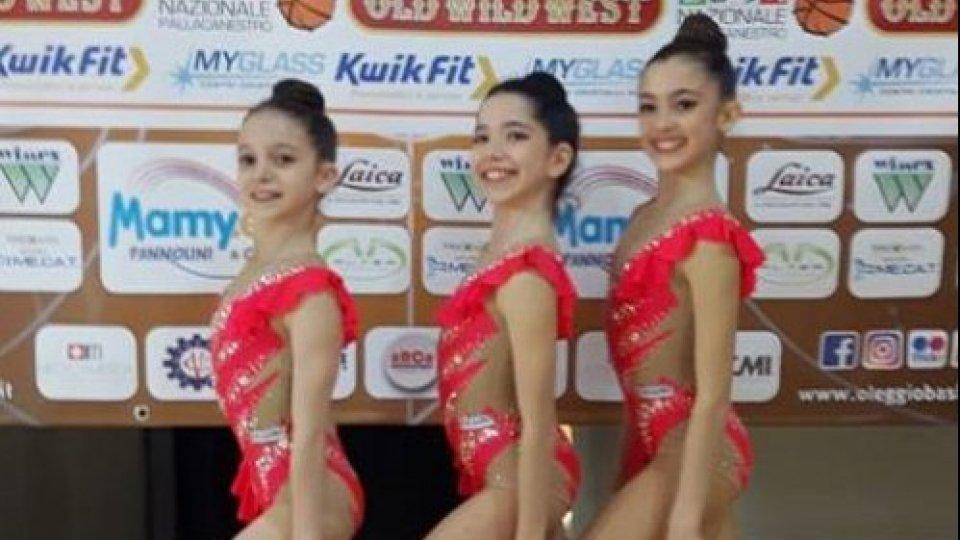 La S.S. Ginnastica San Marino vola ai Nazionali con la squadra Allieve Gold